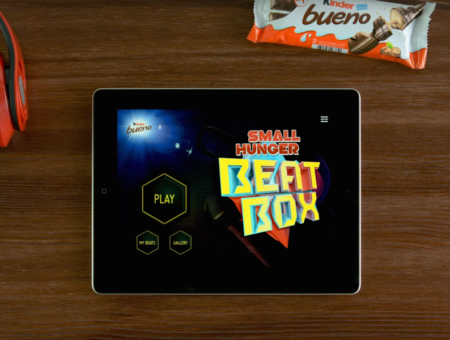 Kinder Bueno Beat Box App